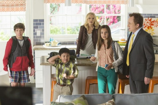 Foto Albert Tsai, Bailee Madison, Bradley Whitford, Malin Åkerman