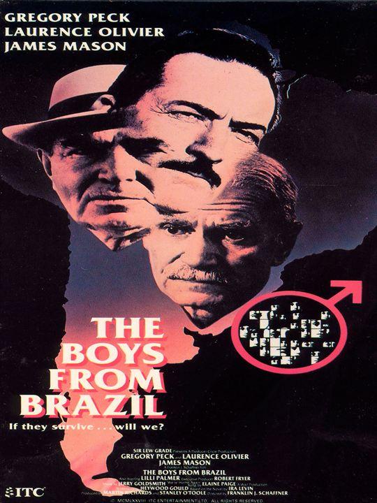 Los niños del Brasil : Cartel