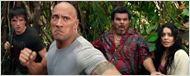 Dwayne Johnson ('Viaje al centro de la Tierra 2') le pega un puñetazo a un lagarto gigante