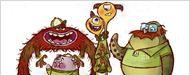 'Monstruos University': así son los esbozos de las criaturas de la peli