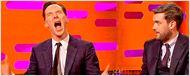 Benedict Cumberbatch imita a Chewbacca... junto a Harrison Ford
