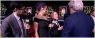 'Star Wars': George Lucas y Frank Marshall bromean sobre si 'El despertar de la Fuerza' superará a 'Jurassic World'