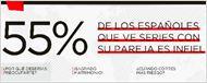 Los españoles, los más infieles de Europa a la hora de ver series