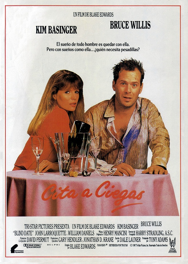 Blind Date 1987 DVD R1 NTSC Latino