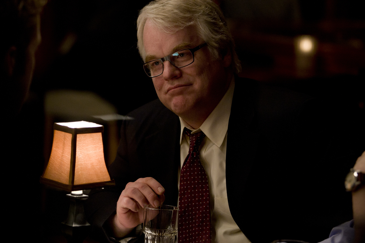 """Philip Seymour Hoffman en """"Los idus de marzo"""" (2011)"""