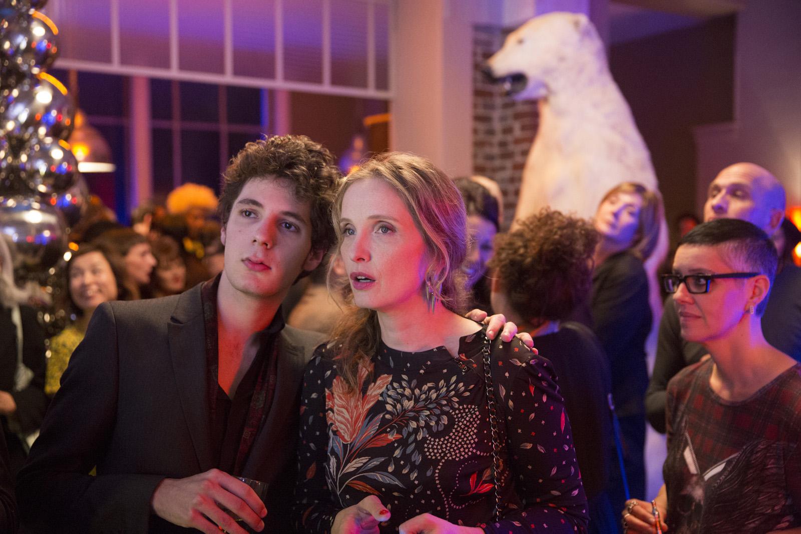 Vincent Lacoste y Julie Delpy en Lolo