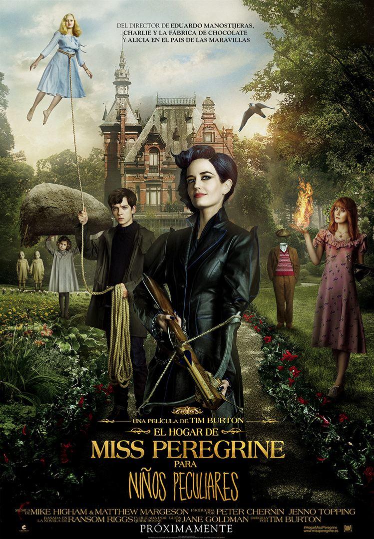 El hogar de Miss Peregrine para niños peculiares- Cartel