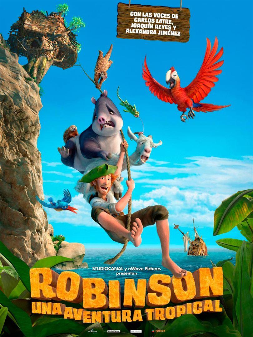 Robinson. Una Aventura tropical - Cartel