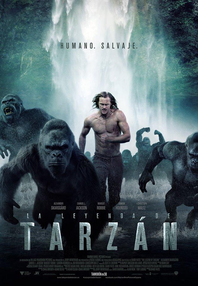 La Leyenda de Tarzan [DVDRip] [Latino] [1 Link] [MEGA]