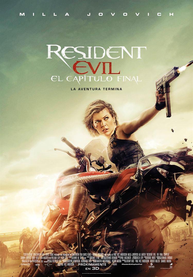 Resident Evil: El capítulo final - Cartel