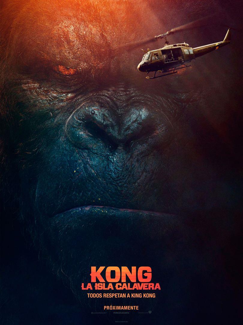 Kong: La isla calavera- Cartel