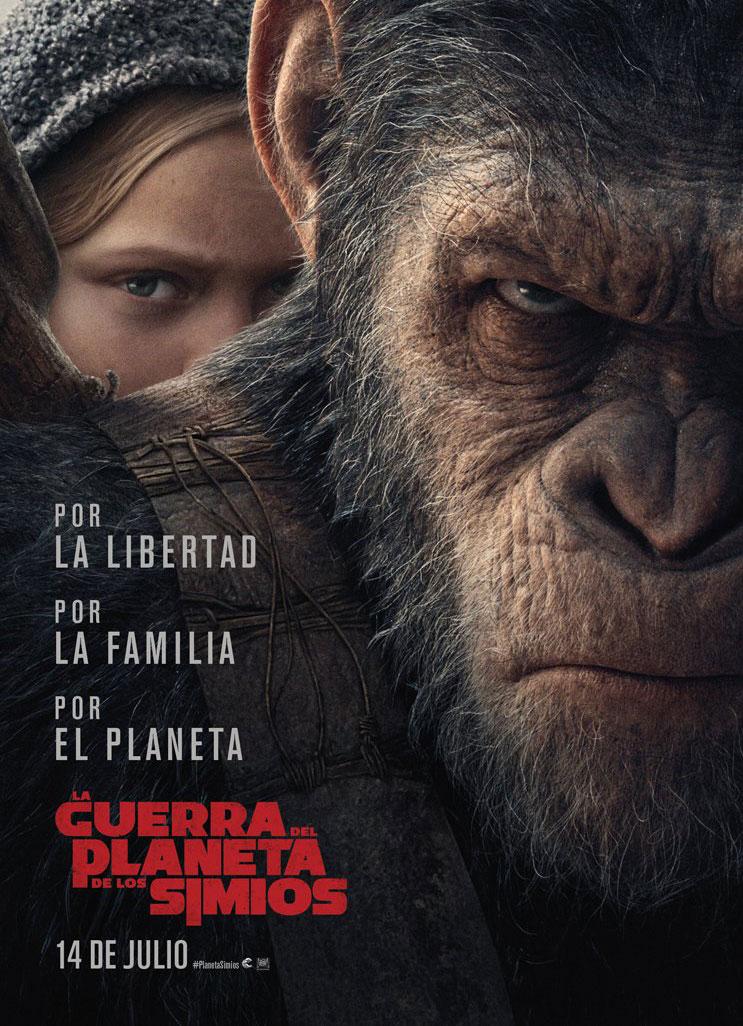 La guerra por el Planeta de los Simios - Cartel