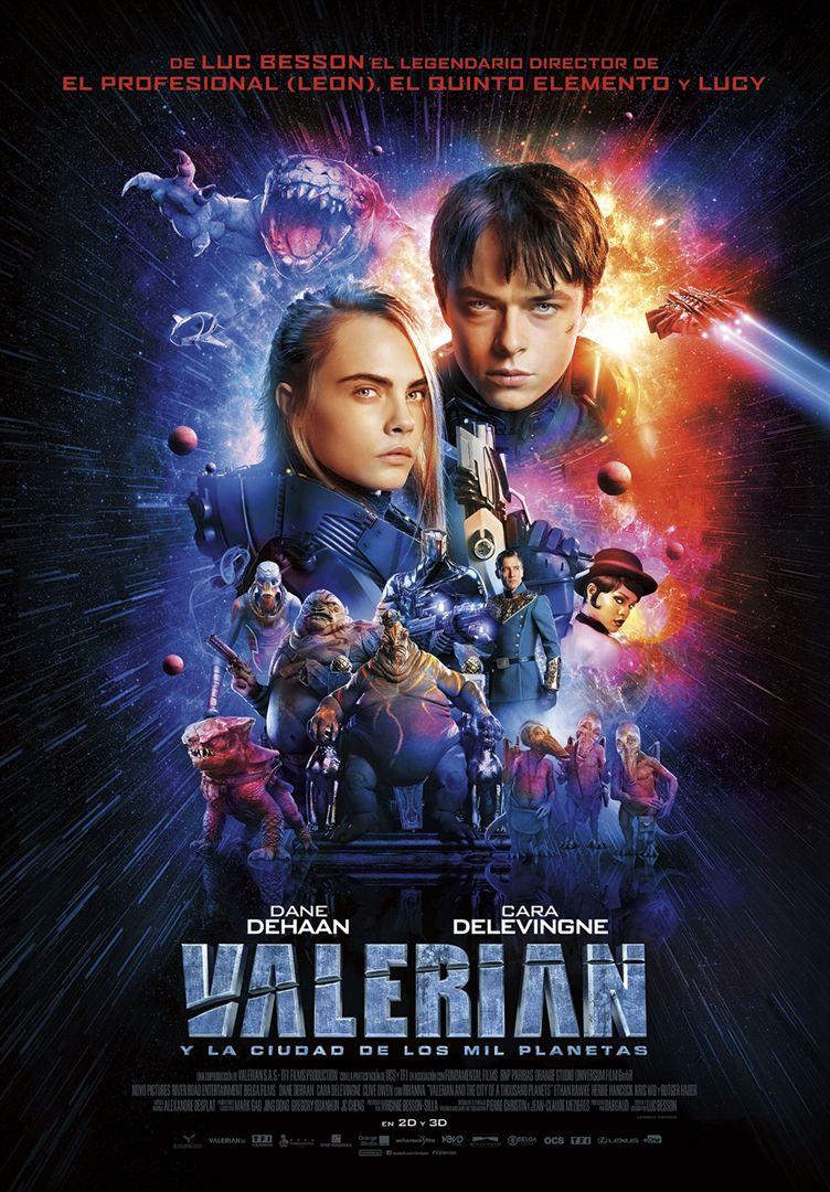 Valerian y la ciudad de los mil planetas - Cartel