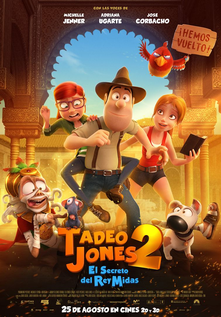 Tadeo Jones 2: El secreto del Rey Midas - Cartel