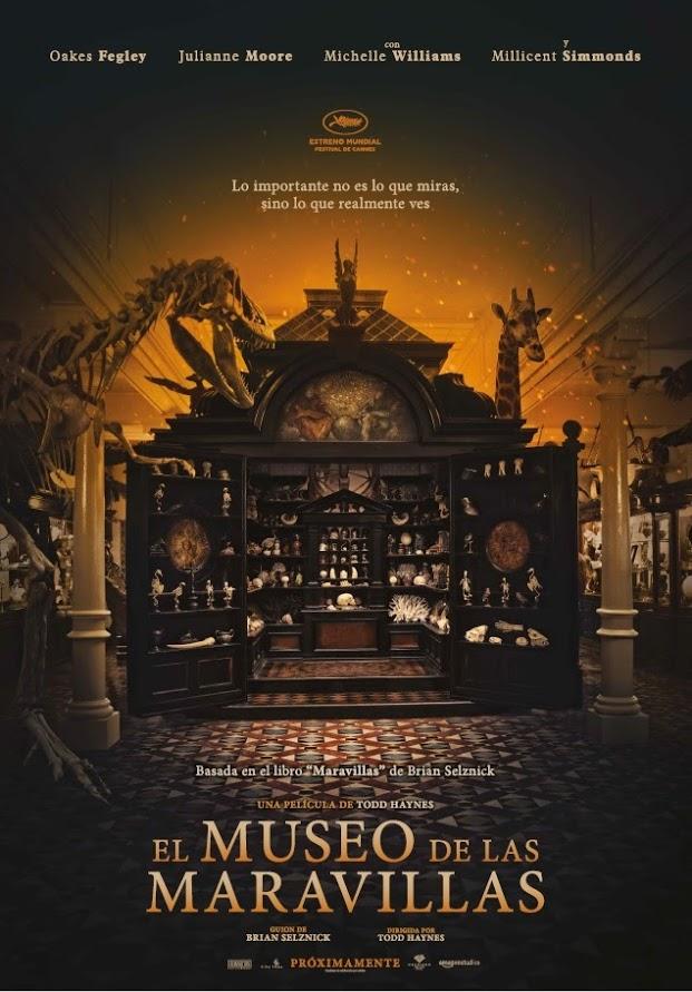 WONDERSTRUCK. EL MUSEO DE LAS MARAVILLAS- Cartel
