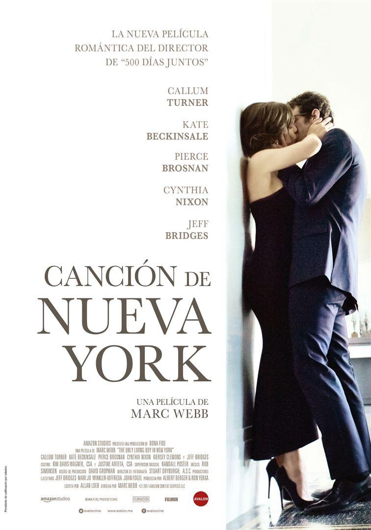Canción de Nueva York - Cartel