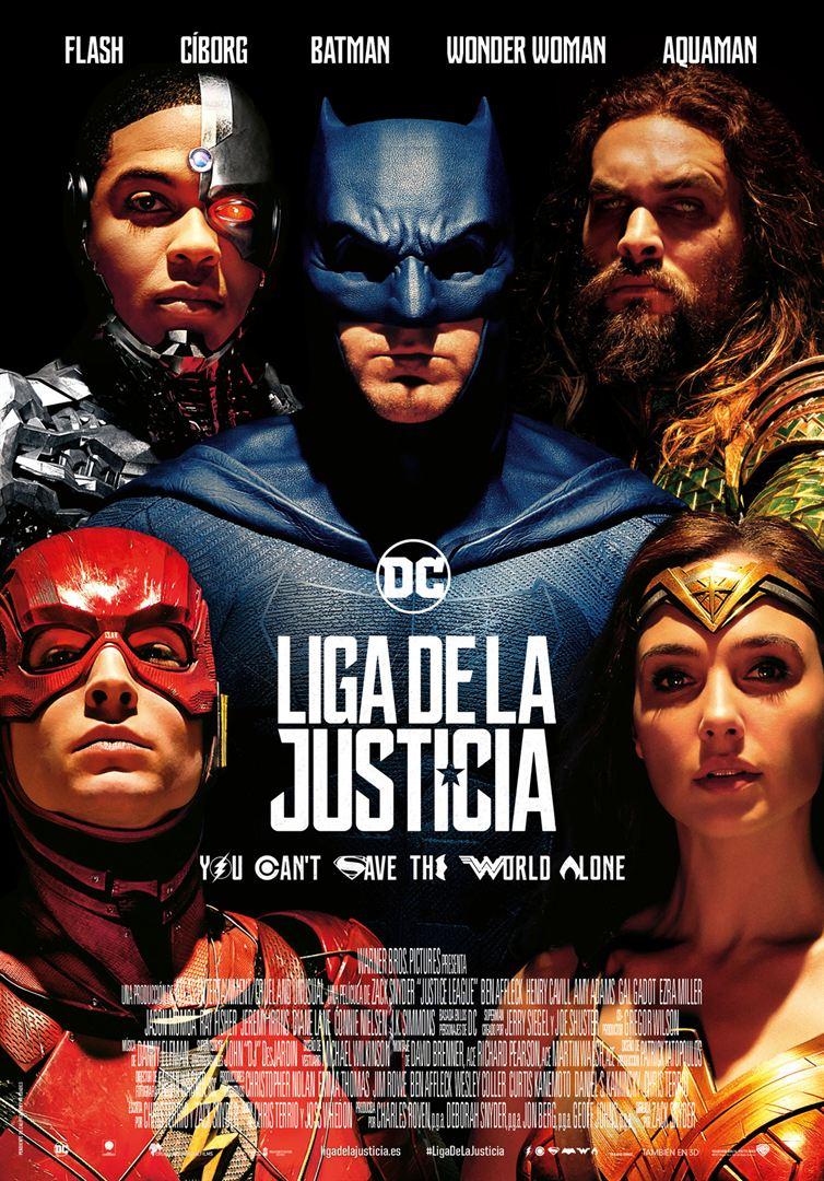 Liga de la Justicia - Cartel