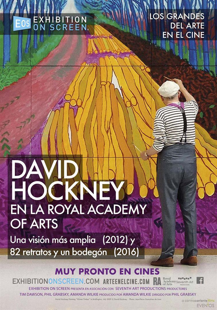 David Hockney en la Royal Academy of Arts (Gran Bretaña) - Cartel