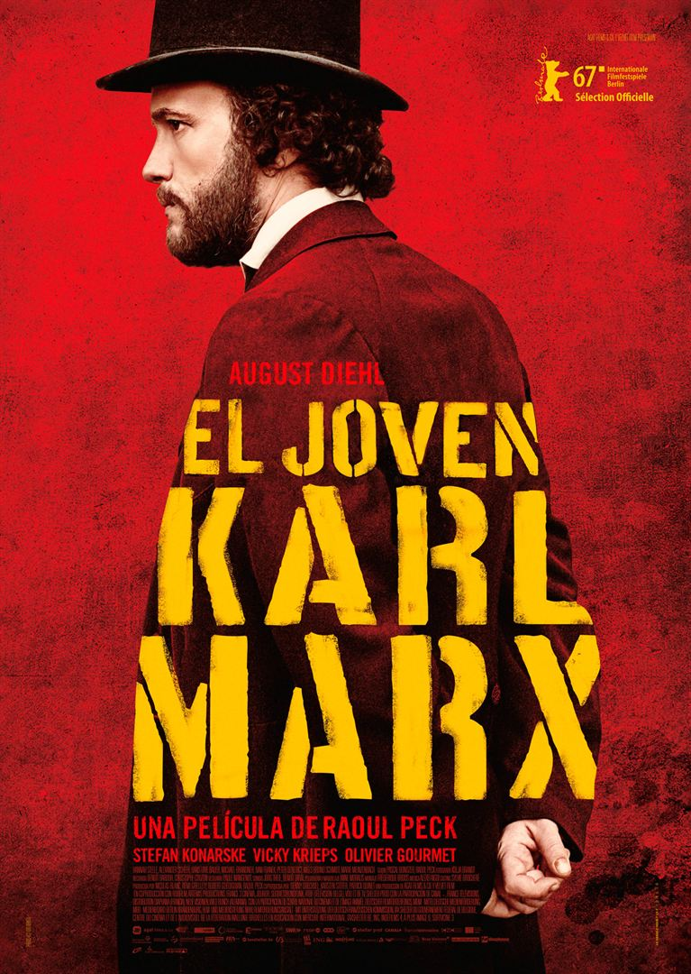 El joven Karl Marx - Cartel