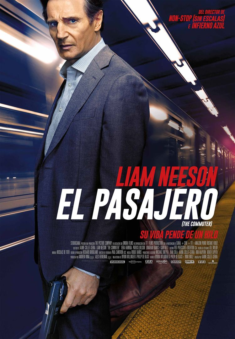 El pasajero (The Commuter) - Cartel