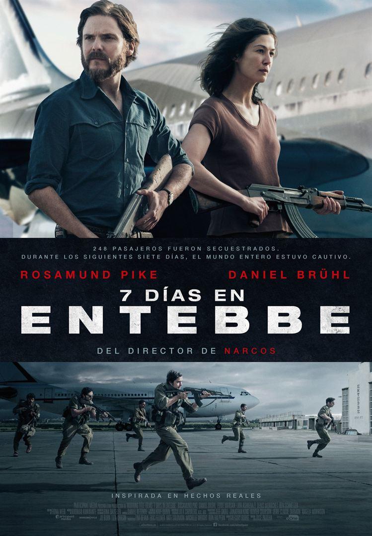 7 días en Entebbe - Cartel