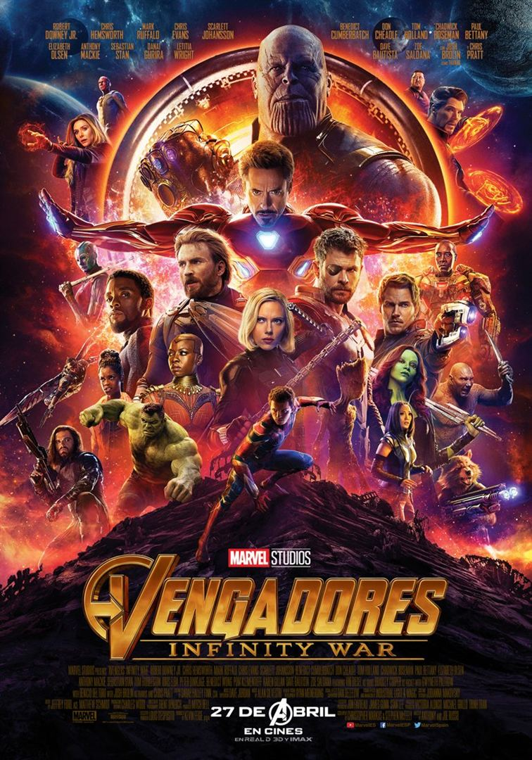 Vengadores: Infinity War - Cartel
