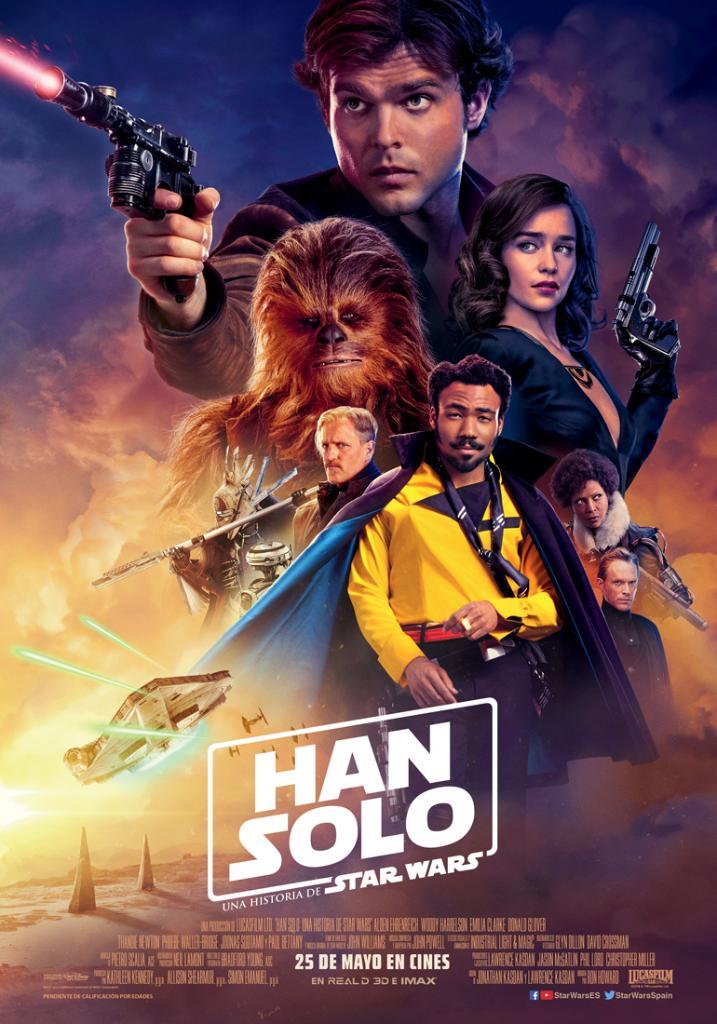 Han Solo: Una historia de Star Wars - Cartel