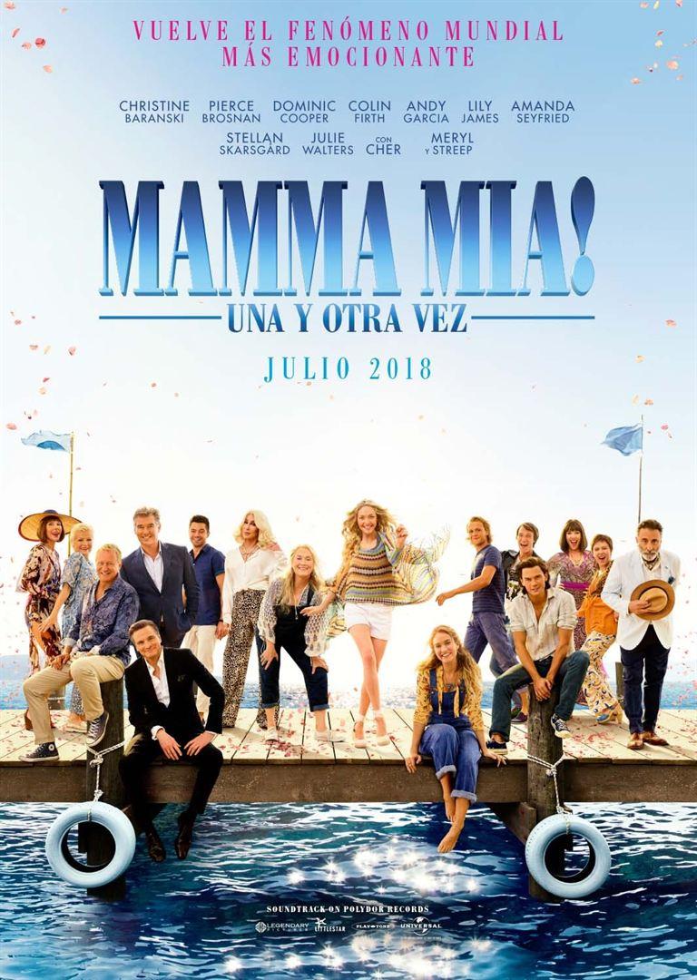 Mamma Mia! Una y otra vez - Cartel