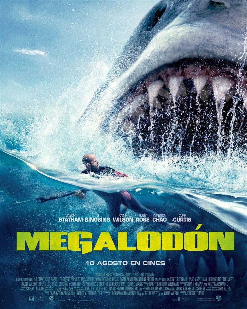 Megalodón - Cartel