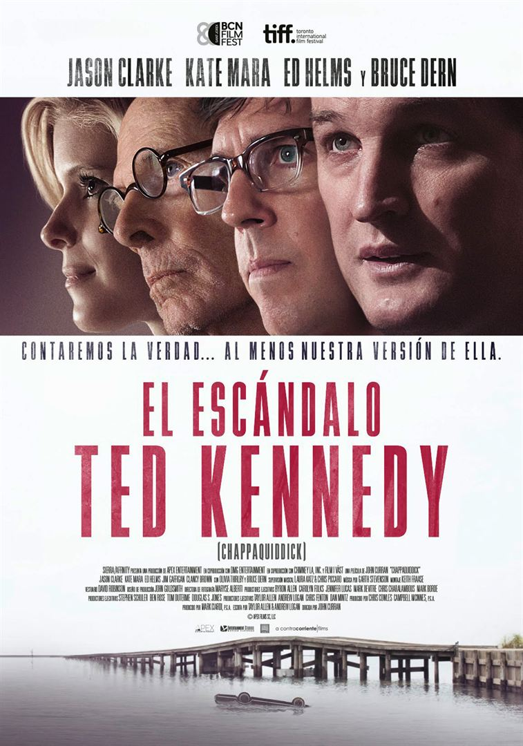 El escandalo Ted Kennedy - Cartel
