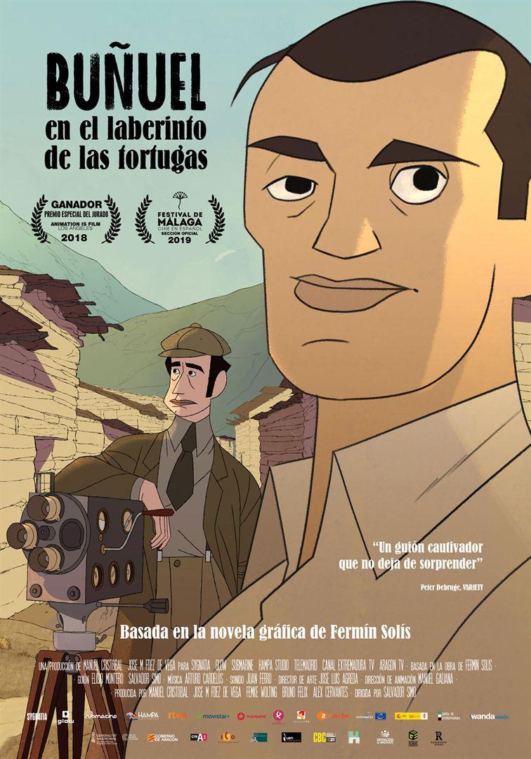 Buñuel_en_el_laberinto_de_tortugas - Cartel