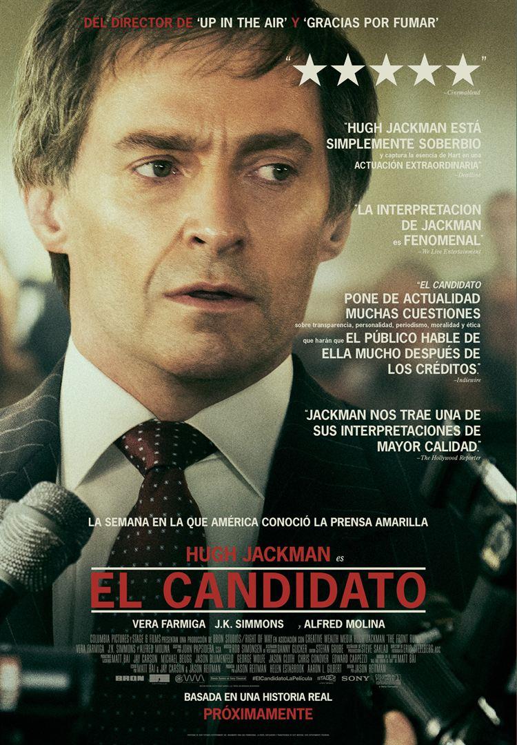 El candidato - Cartel