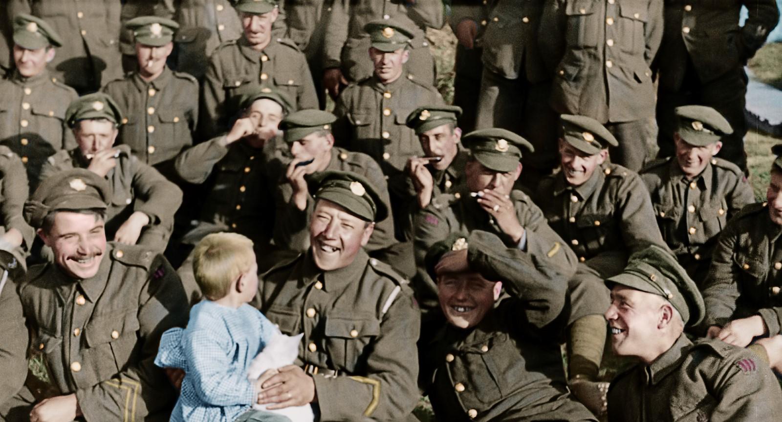 Ellos no envejecerán, documental dirigido por Peter Jackson