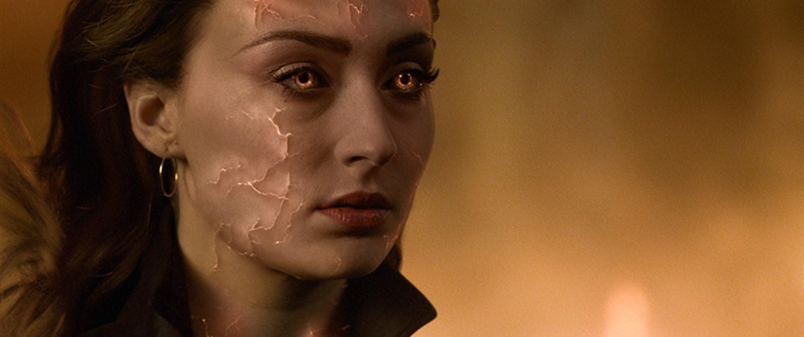 Sophie Turner en X-Men: Fénix Oscura