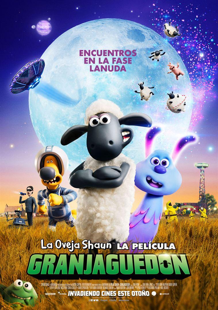 La oveja Shaun, La película: Granjaguedon- Cartel