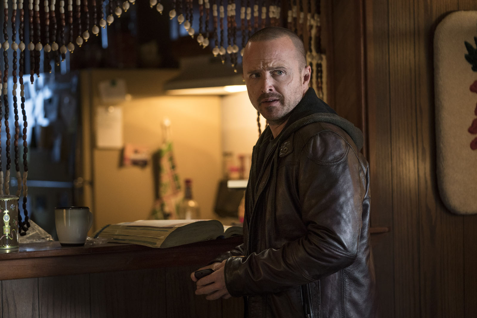 Aaron Paul en El camino: Una película de Breaking Bad