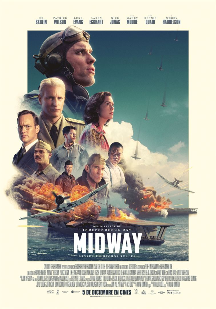 PRÓXIMAMENTE En El Cine y La Historia: MIDWAY