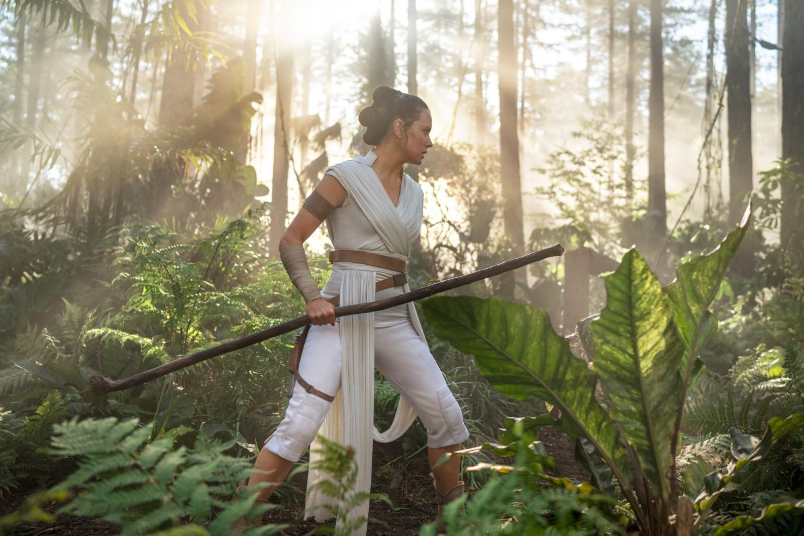 Daisy Ridley en Star Wars: El Ascenso de Skywalker