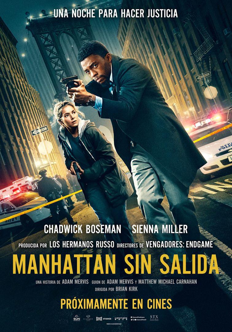 Manhattan sin salida - Cartel