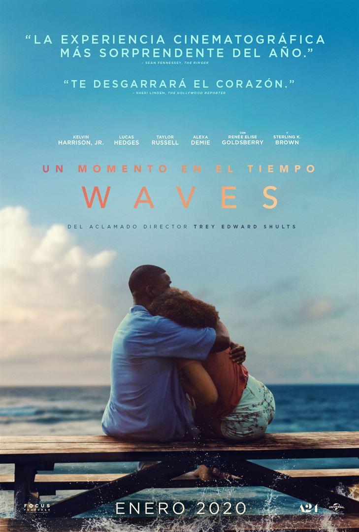 Un momento en el tiempo (Waves) - Cartel