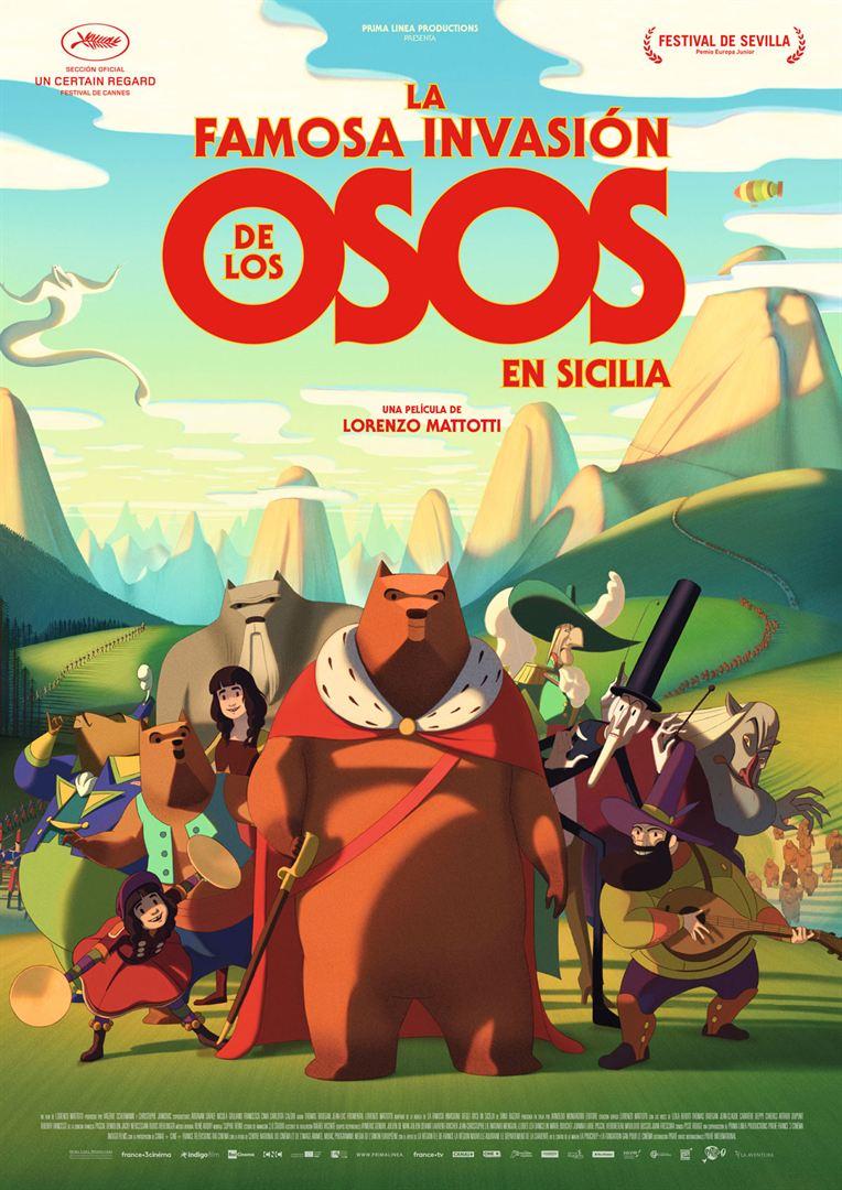 La famosa invasión de los osos en Sicilia - Cartel