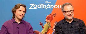 'Zootrópolis': Animales desnudos, relaciones románticas y más en esta entrevista con los directores