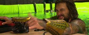 'Batman v Superman': Echa un vistazo más de cerca a Aquaman con estas imágenes detrás de las cámaras
