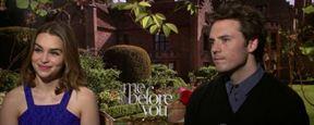 'Antes de ti': Emilia Clarke y Sam Claflin nos cuentan por qué la historia se parece a 'La Bella y la Bestia'