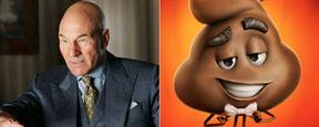'Emoji: La película': Patrick Stewart pondrá voz al emoticono de la caca sonriente