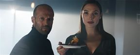 Gal Gadot y Jason Statham hacen equipo en este anuncio de la Super Bowl