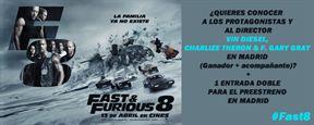 BASES LEGALES DEL CONCURSO DE 'FAST& FURIOUS 8'