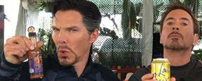 'Vengadores: Infinity War': Doctor Strange, Iron Man, Hulk y Wong se van a comer juntos en esta imagen del rodaje