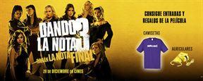 ¡SORTEAMOS 5 PACKS DE REGALOS Y ENTRADAS DE CINE DE 'DANDO LA NOTA 3'!