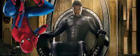Tom Holland felicita a Chadwick Boseman por el éxito de 'Black Panther'